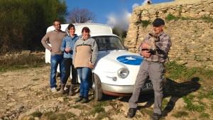 Notre équipe :Roger, Christine,  Jérôme, Sandra
